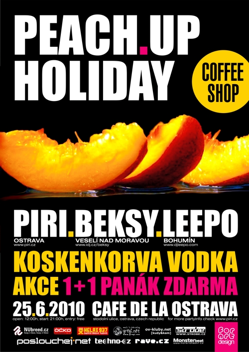 PEACH UP HOLIDAY