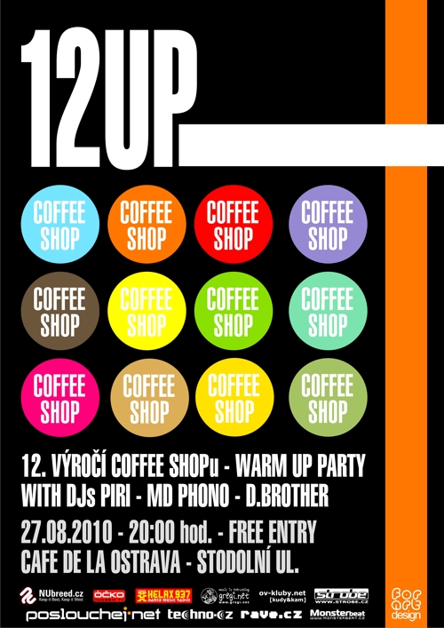12. VÝROČÍ COFFEE SHOPU - WARM UP