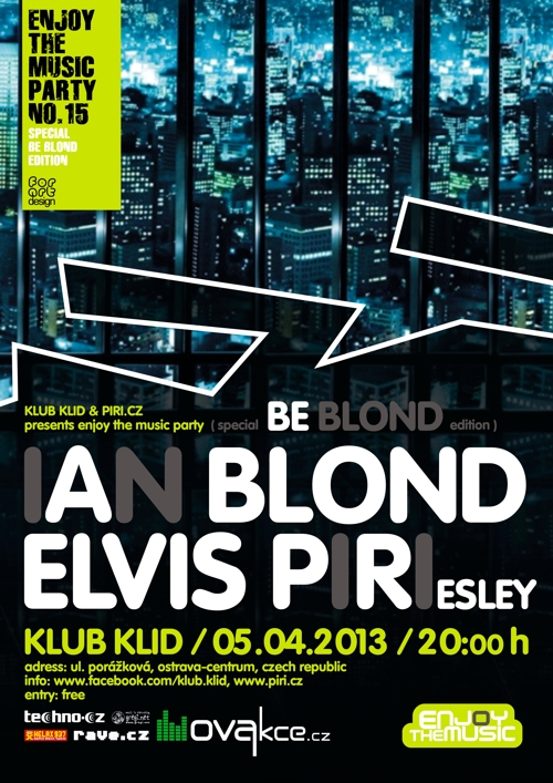 ENJOY THE MUSIC - SPECIAL BE BLOND EDITION